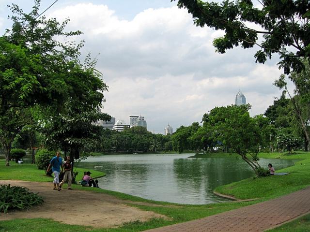 Цікаві місця Бангкока: парк Люмпіні