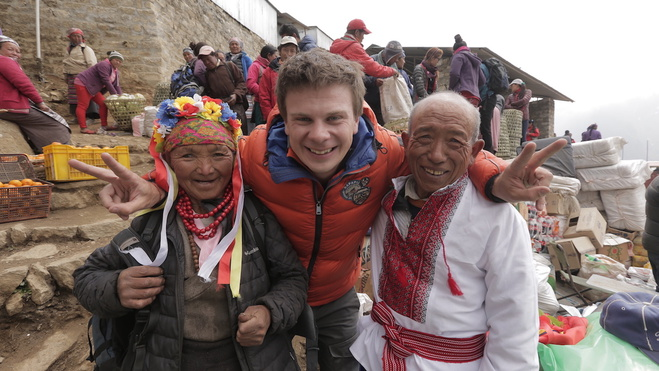Дмитро Комаров, Непал