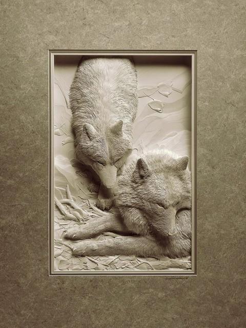 Нереальные 3D-картины из бумаги
