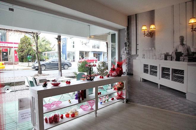 Стамбульские магазины сладостей. Cemilzade