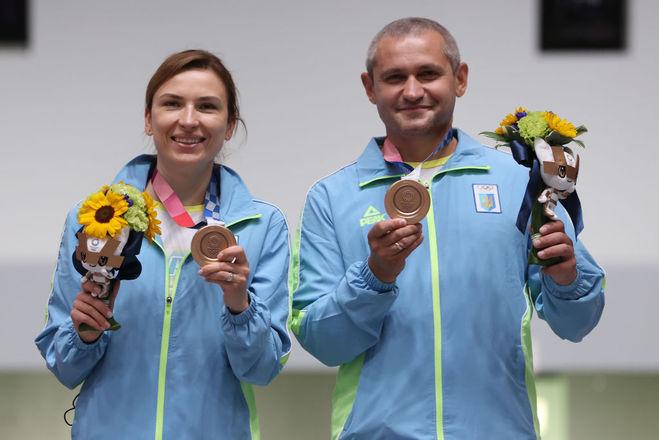 Олена Костевич та Олег Омельчук