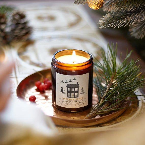 Свічки на Новий рік
