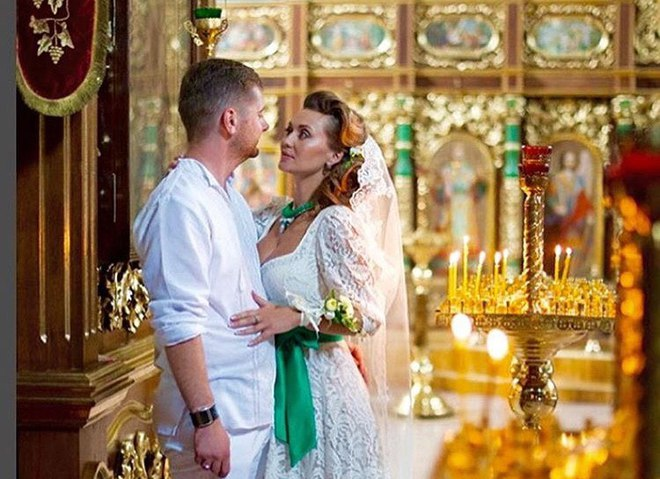 Анна Саліванчук з чоловіком Олександром