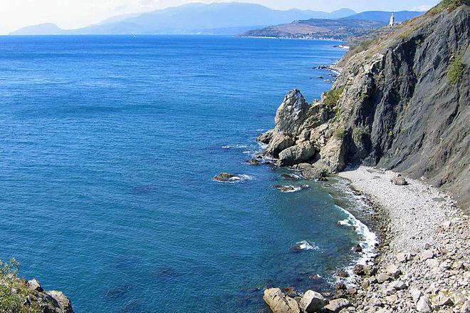 Визначні пам'ятки Криму: Бухта любові
