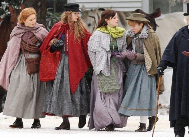 """Сирша Ронан, Эмма Уотсон и Мерил Стрип в первом трейлере к фильму """"Маленькие женщины"""""""