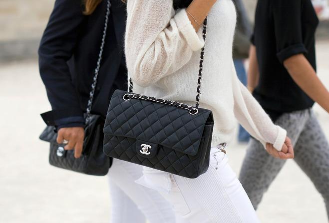 Классическая версия сумки Chanel 2.55