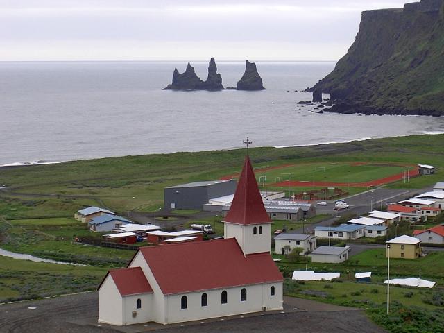 Достопримечательности Исландии: Вик