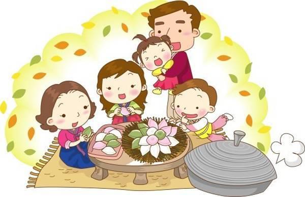 Откиытки на праздник Чхусок (Чусок)
