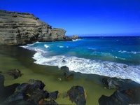 Очаровательный берег океана