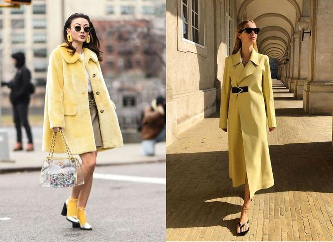 Жовтий — модний колір на осінь 2020