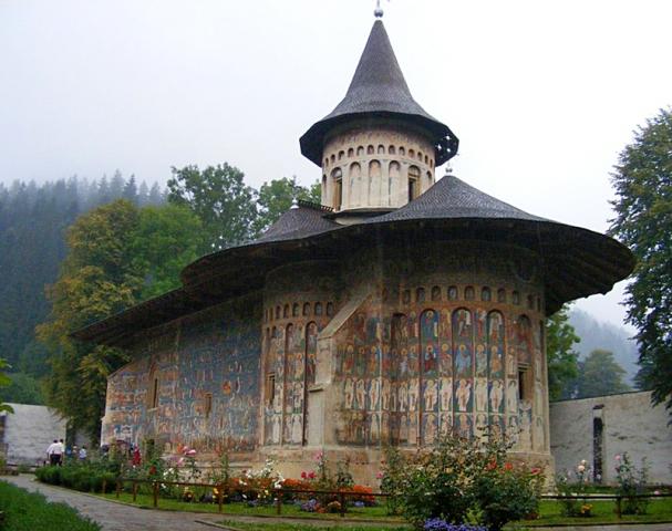 Монастир Воронець в Румунії