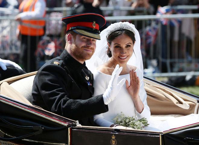Принц Гарри и Меган Маркл сыграли свадьбу