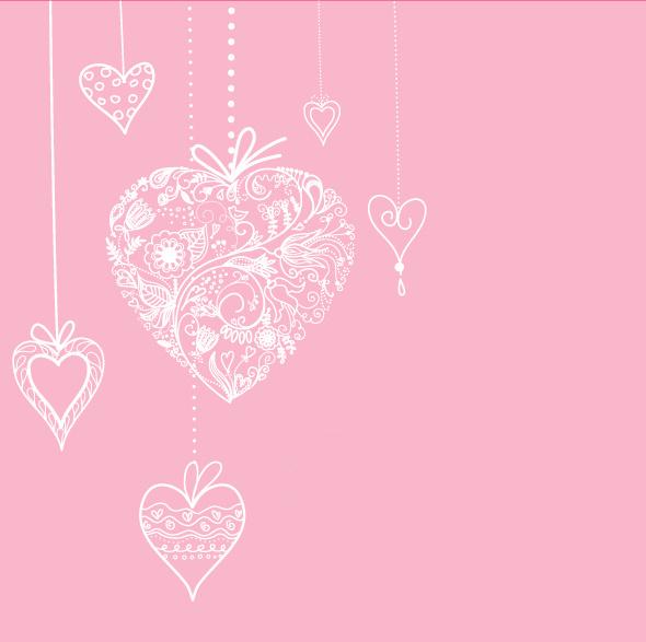Нежная картинка с сердечками
