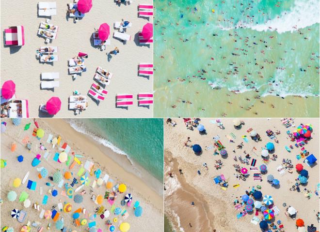 Аэрофотоснимки: самые популярные среди туристов пляжи с высоты птичьего полета