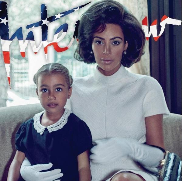 Ким Кардашьян в образе Жаклин Кеннеди