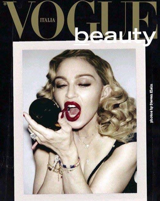 Мадонна для Vogue Italia