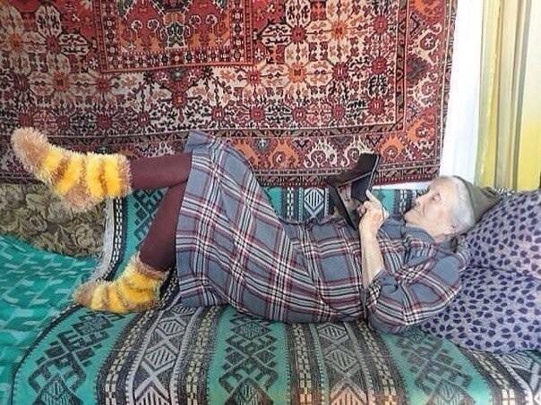 Бабушка современного мира