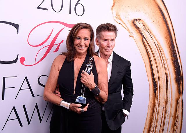 Донна Каран і Кельвін Кляйн на CFDA Awards 2016