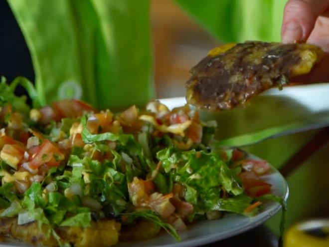 Патаконес — традиционное коста-риканское блюдо из банана