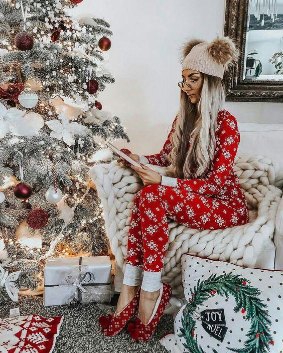 Модные пижамы на Новый год 2021
