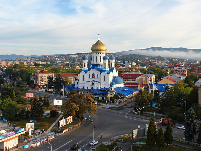 Куда поехать на Пасху: Храм Христа Спасителя (Ужгород)
