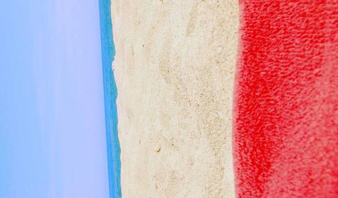 Флаги стран, созданные природой