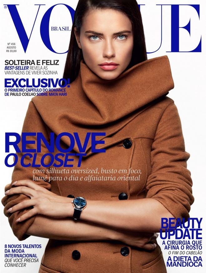 Адріана Ліма в фотосесії для Vogue Brazil