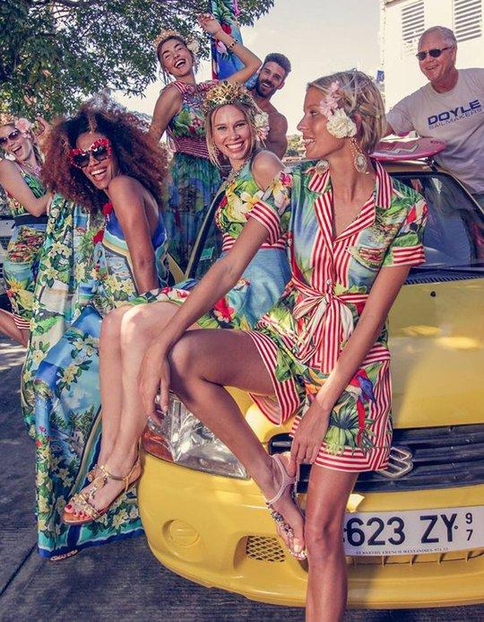 Українська модель знялася в кампейні Dolce & Gabbana