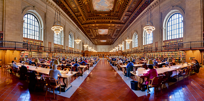 Нью-Йорк з Керрі Бредшоу: Нью-Йоркська публічна бібліотека