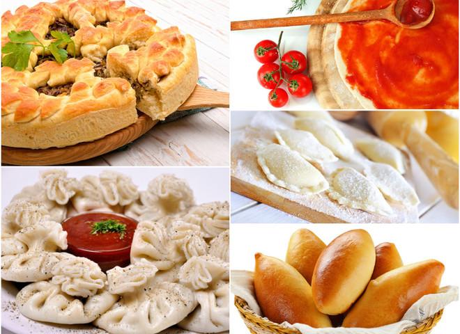 Постное меню: рецепты блюд из теста