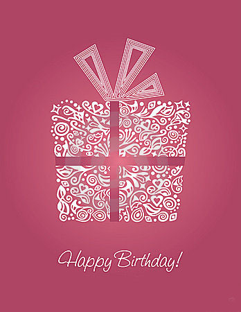 Подарочек ко дню рождения