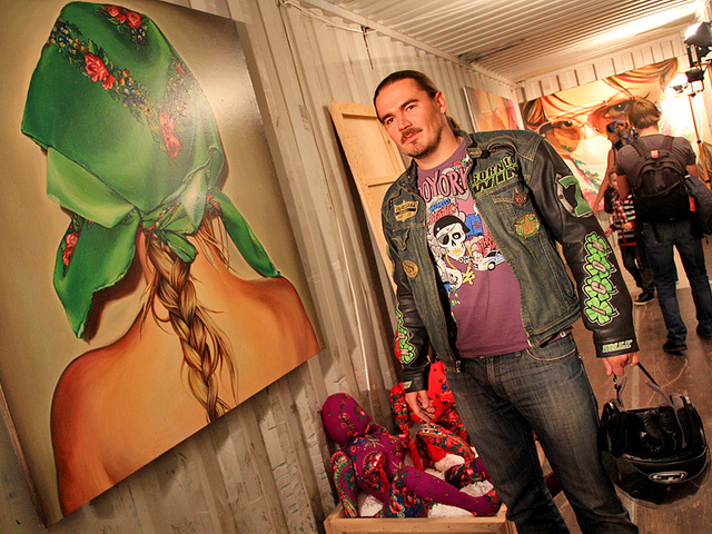 Выставка Маши Шубиной