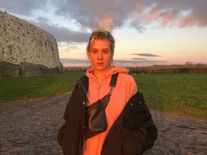 Маша Гребенюк в Ирландии