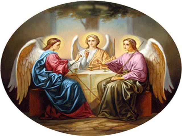 Открытки с Троицей