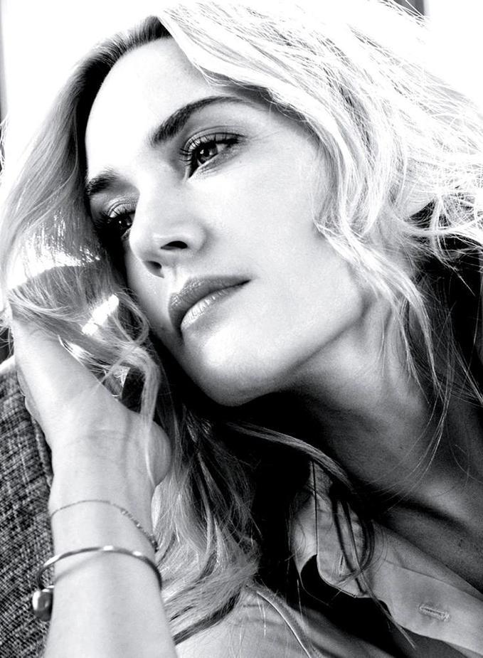 Кейт Уінслет з'явилася на обкладинці квітневого випуску InStyle