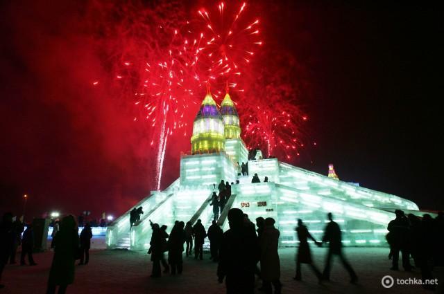 Фестиваль льоду й снігу в місті Харбін