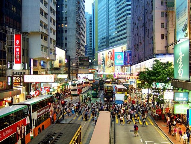 Достопримечательности Гонконга: трамвай