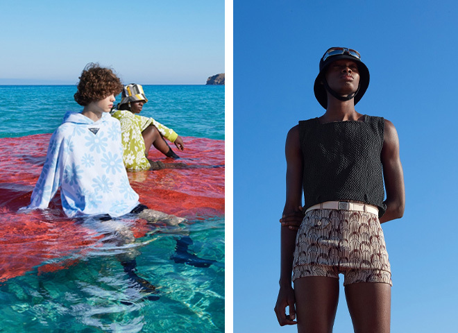 Prada весна-літо 2022 на Тижні чоловічої моди в Мілані