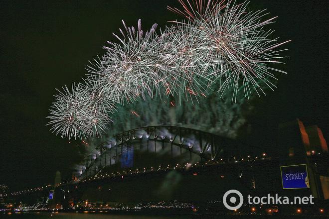 Новогодние фейерверки 2014