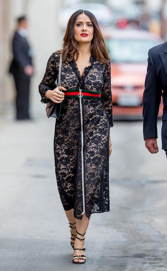 Сальма Хайек в Gucci