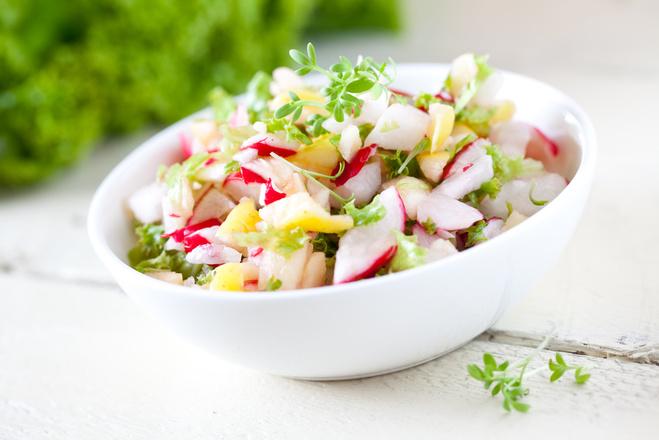 Овощные салаты: ТОП-5 рецептов витаминных блюд