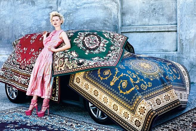 Міа Васиковська на фотосесії для W Magazine