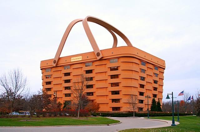 Самі незвичайні будинки у світі: Будівля-корзина, Штат Огайо, США