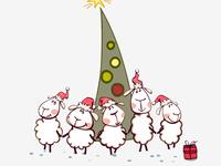 Овечьи хороводы в Новый год 2015