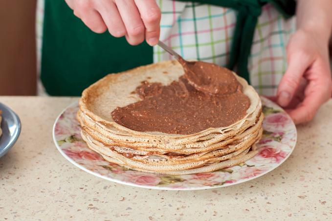 Торт із млинців: крок за кроком рецепт з фото