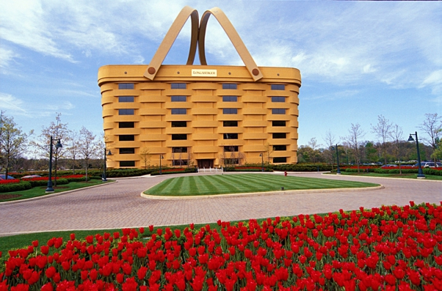 Самые необычные дома в мире: Здание-корзина, Штат Огайо, США