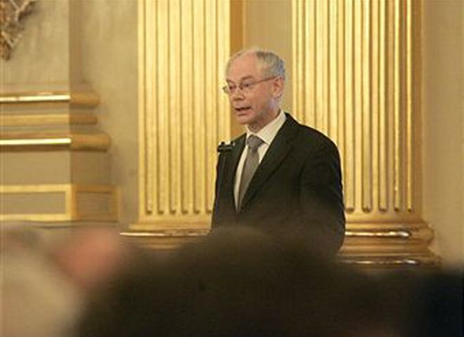 Герман ван Ромпей - перший президент ЄС