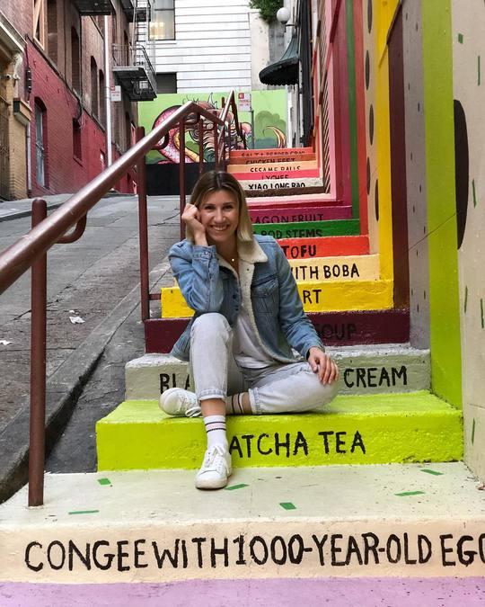 Аніта Луценко в Америці