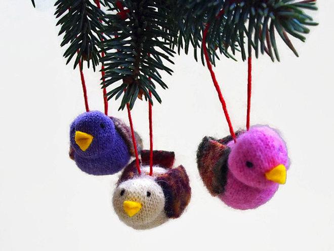 Игрушки на елку своими руками