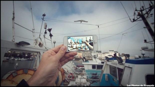 Фотограф Франсуа Дурлен забавно совмещает кадры из фильмов с реальными декорациями